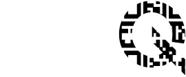 MenuQ logo in negative
